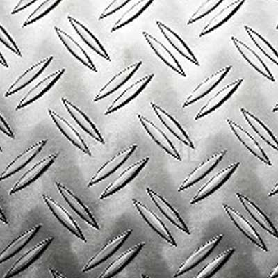 5 bar aluminium checker plate