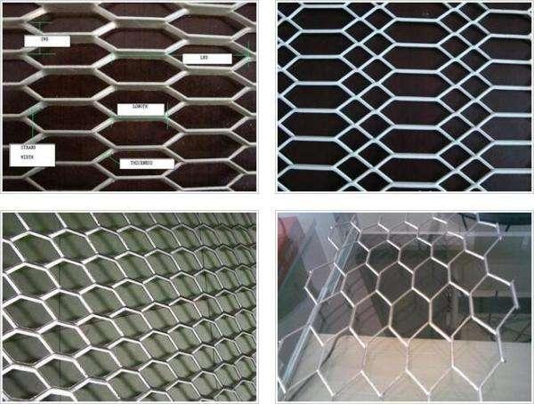 aluminum mesh filter sheets