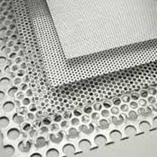 "Alloy 3003 Perforated Aluminum Sheet .063 x 48/"" x 120/"""