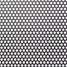 perforated corrugated aluminum sheet