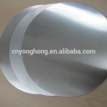 1050 3003 aluminum circle for cooking utensils of manufacture