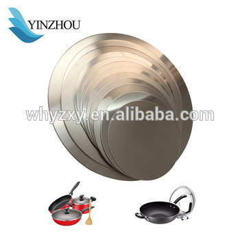 Hot Sale1050 1100 3003 8011 Aluminum Circle/Disc for Kitchenware Utensils With high quality