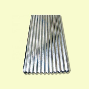 Wholesale zinc metal galvanized corrugated steel roofing sheet