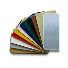 colored aluminium sheets